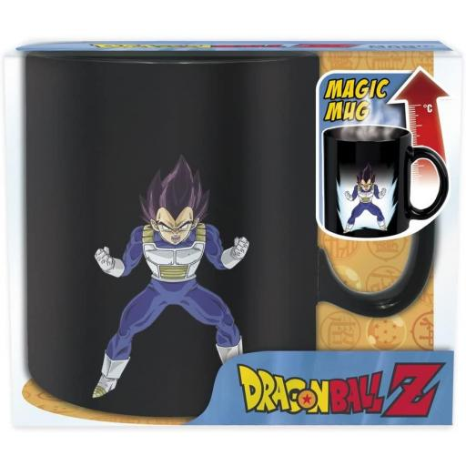 TAZA DRAGON BALL VEGETA 460 ML (POR CALOR)