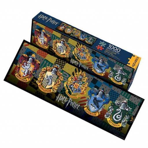 Puzzle escudos 4 casa de Hogwarts