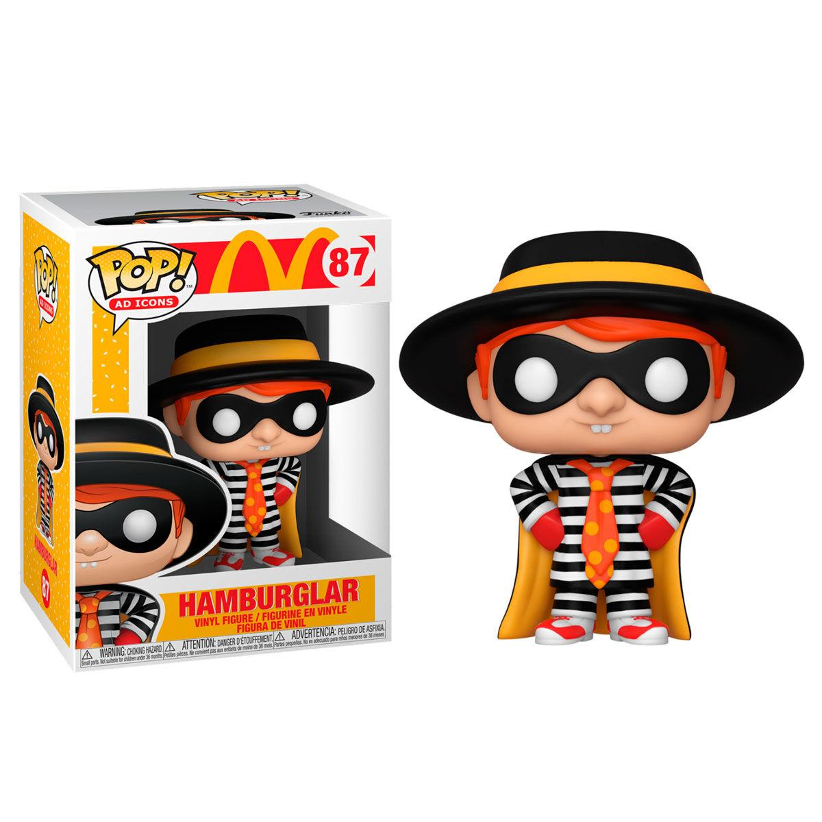 Funko pop 87 Hamburglar  McDonalds