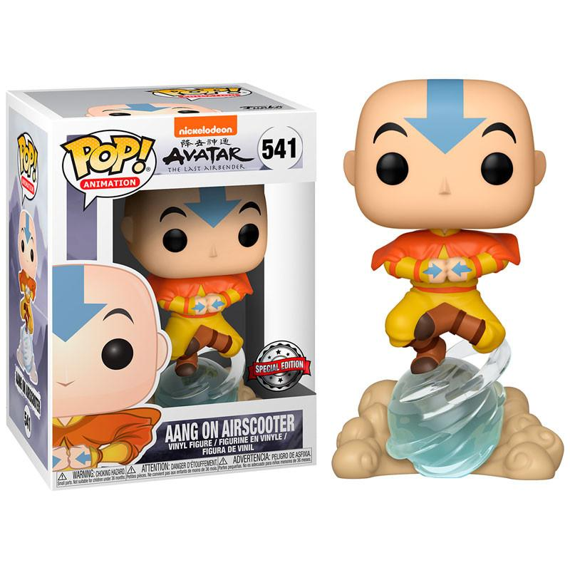 FUNKO POP AVATAR AANG ON AIR BUBBLE EXCLUSIVE