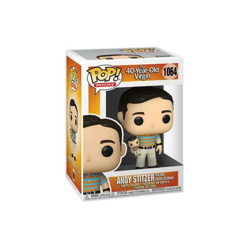 Funko pop 1064 Andy con Oscar White