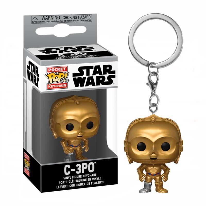 Llavero Pocket pop de C-3PO