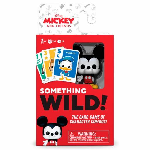 Juego cartas Something Wild! Mickey y amigos Disney