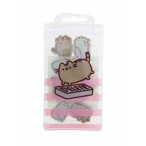 Pusheen Pack de 8 Gomas de Borrar