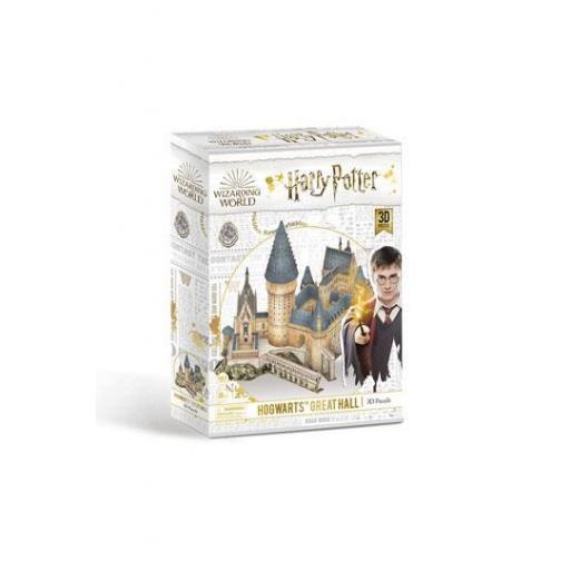 Puzzle 3D Gran Comedor de la pelicula Harry Potter