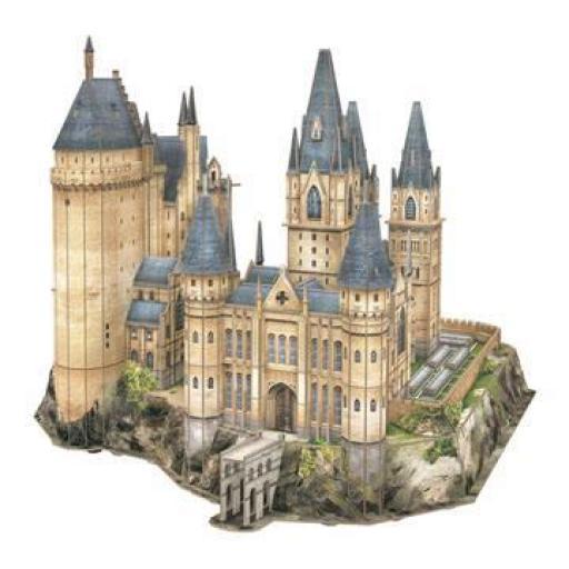 Puzzle 3D Torre de Astronomía de la pelicula Harry Potter [1]