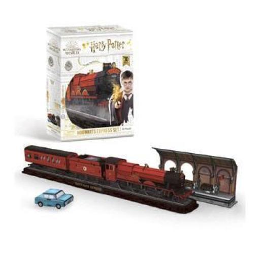 Puzzle 3D Harry Potter  3D Expreso de Hogwarts [1]