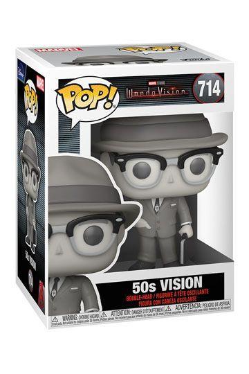 Funko pop 714 de Vision (50s) de la serie WandaVisión