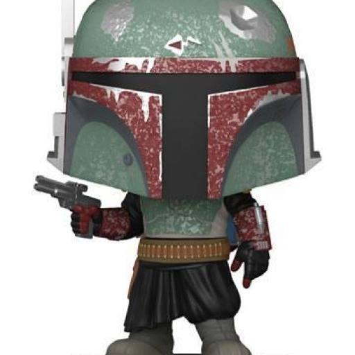 Star Wars The Mandalorian POP! TV Vinyl Figura Boba Fett 9 cm