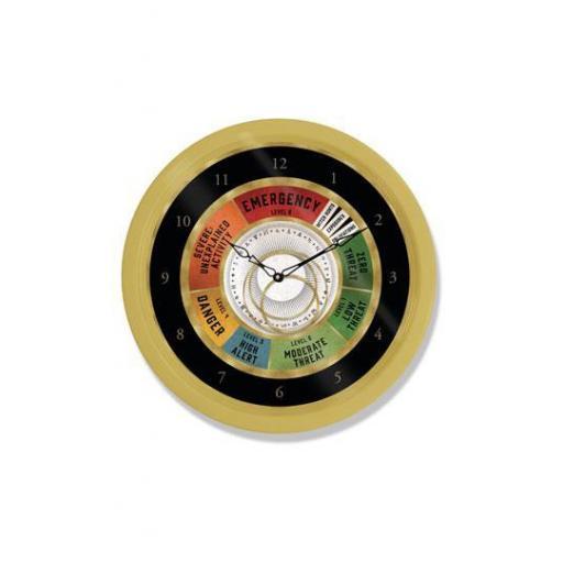 El Mundo Mágico Reloj de Pared Emergency