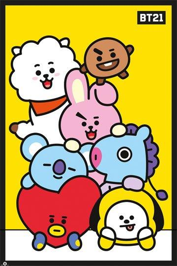Poster BT21   61 x 91