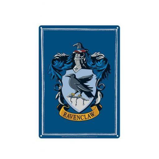 Harry Potter Placa de Chapa Ravenclaw 21 x 15 cm