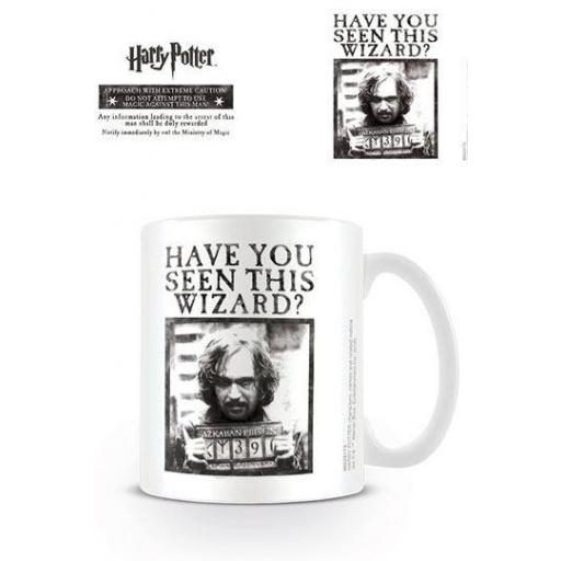 Taza Wanted Harry Potter