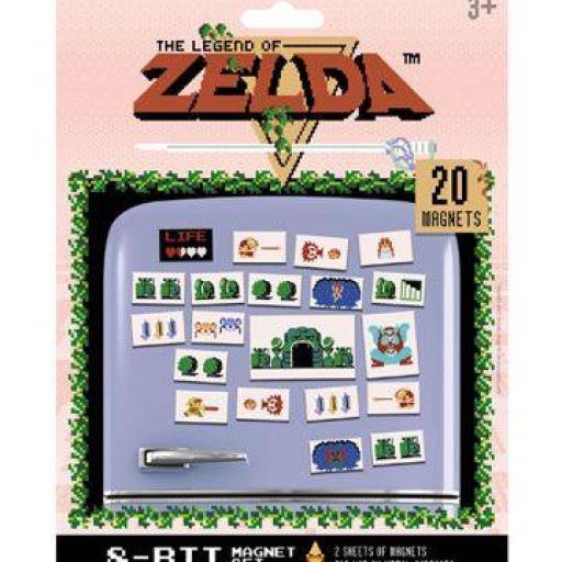 Set de Imanes Retro de The Legend of Zelda [0]