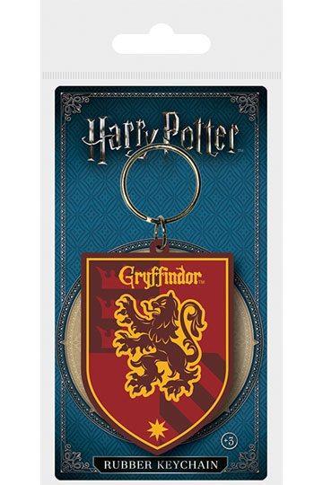 Harry Potter Llavero caucho Gryffindor 6 cm