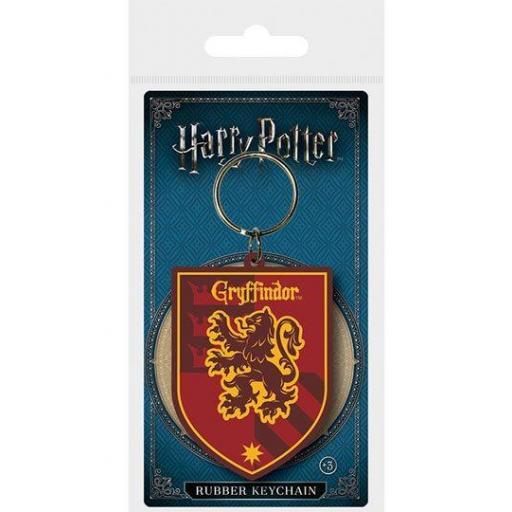 Harry Potter Llavero caucho Gryffindor 6 cm [0]