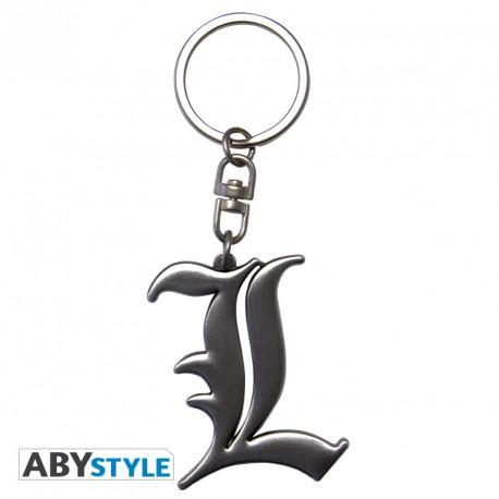 Llavero de Death Note en metal, logo