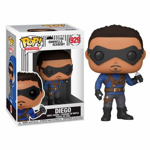 Funko pop Umbrella Academy Diego Hargreeves