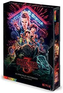 Libreta Stranger Things VHS 3º temporada