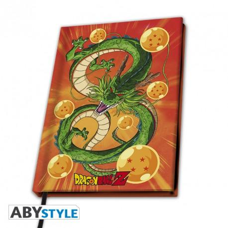 """Libreta A5 en tapa dura de """"Shenron"""" de Dragon ball"""