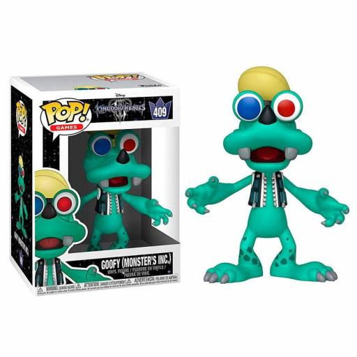FUNKO POP DISNEY KINGDOM HEARTS 3 GOOFY MONSTERS INC