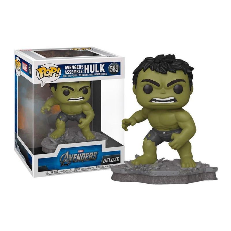 Funko pop 585 Hulk Deluxe Exclusive