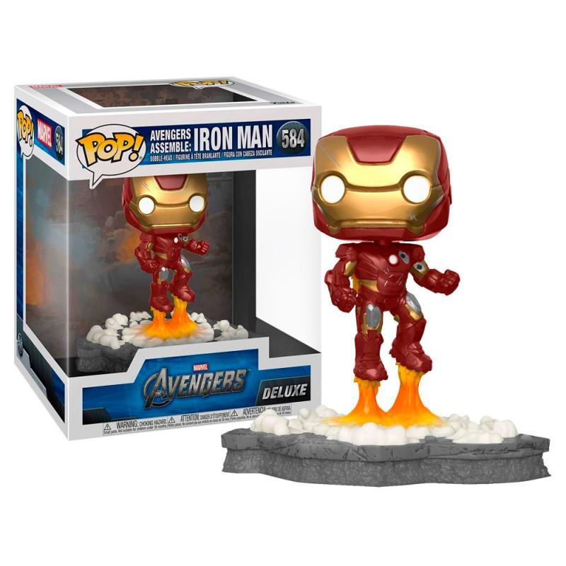 Funko pop 584 Iron Man Deluxe Exclusive