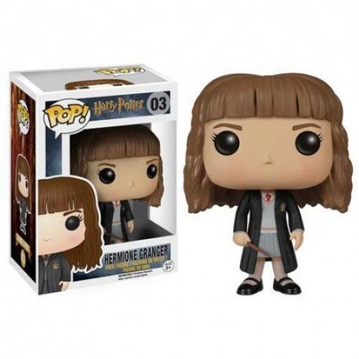 Figura pop 03 Hermione con túnica de Harry Potter