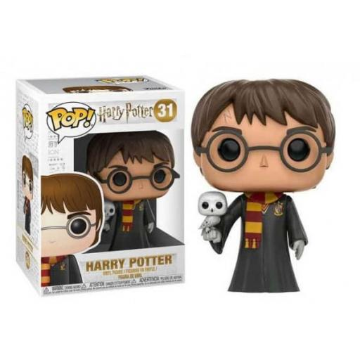 Funko pop 31 Harry Potter con Hedwig