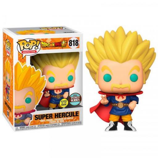 funko pop 818 Super saiyan Hercules Glow