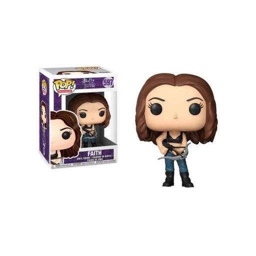 Funko pop 597 Faith  de la serie Buffy Cazavampiros