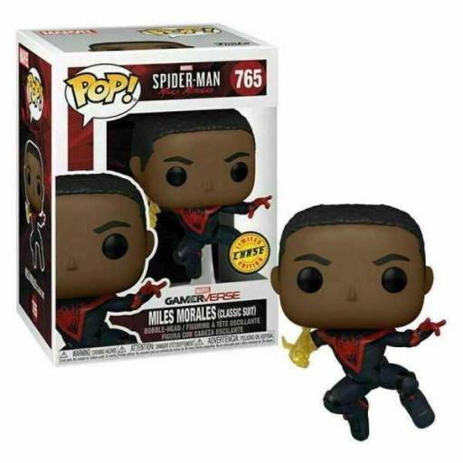 Funko pop 765 Spiderman Miles Morales Suit classic Chase [0]
