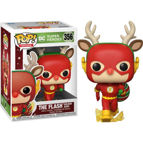 funko pop DC Holiday Rudolph Flash