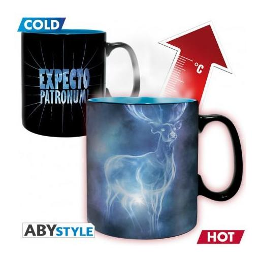 Taza de Expecto patronum de Harry Potter