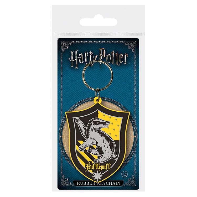 Llavero rubber Hufflepuff Harry Potter
