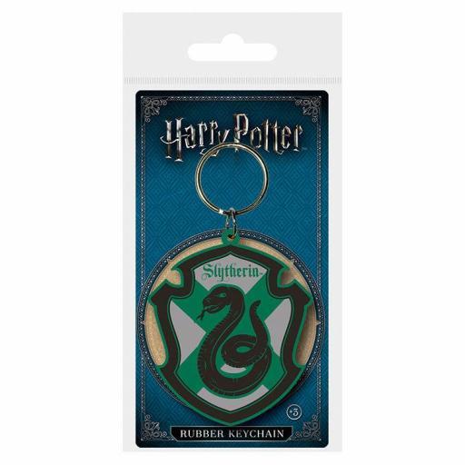 Llavero rubber Slytherin Harry Potter