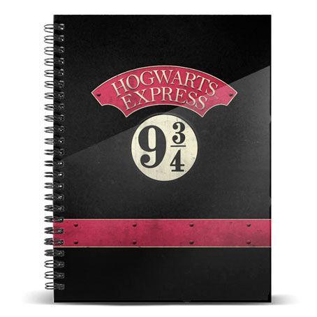 Cuaderno Hogwarts Express 9 3/4 Harry Potter