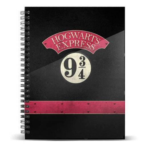 Cuaderno Hogwarts Express 9 3/4 Harry Potter [0]
