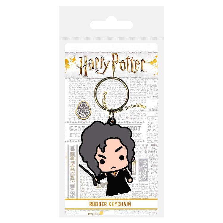 Llavero rubber Bellatrix Lestrange Harry Potter