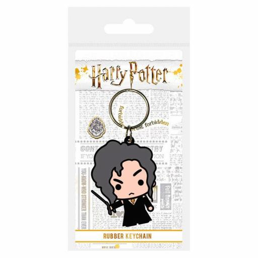 Llavero rubber Bellatrix Lestrange Harry Potter
