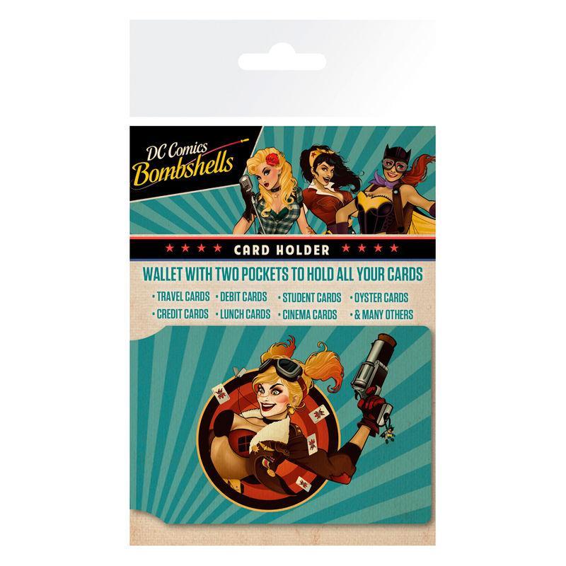 Tarjetero Harley Quinn Bombshell DC Comics