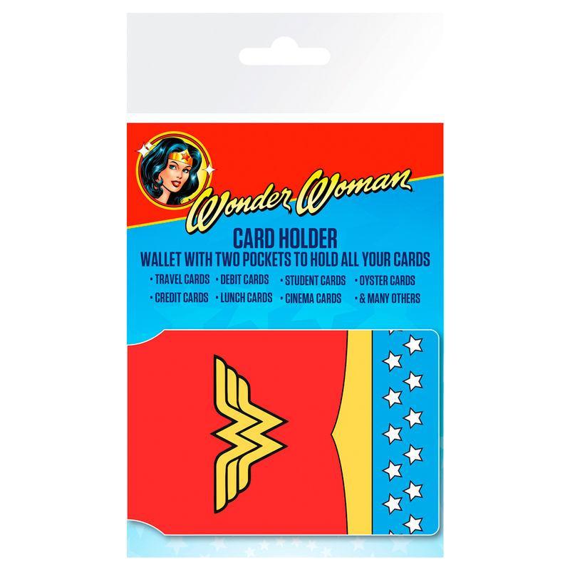 Tarjetero Wonder Woman Costume DC Comics