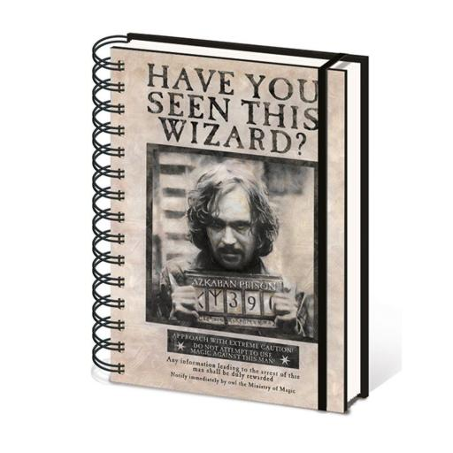 Libreta Sirius Black se busca