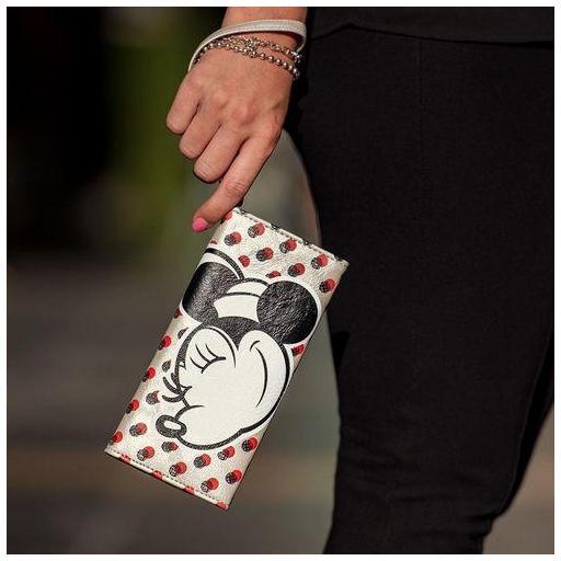 Cartera Mickey Mouse lunares con asa [3]