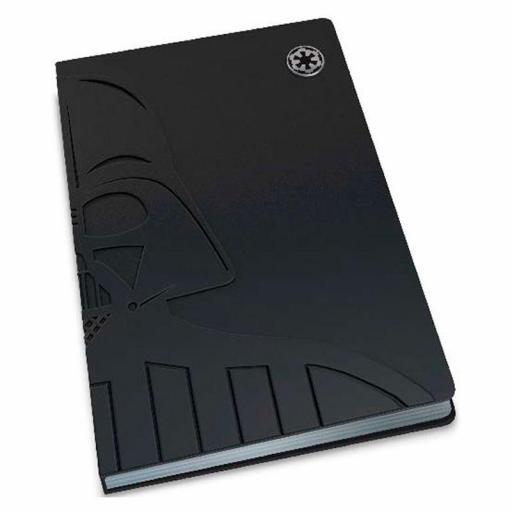 Cuaderno relieve Darth Vader Star Wars