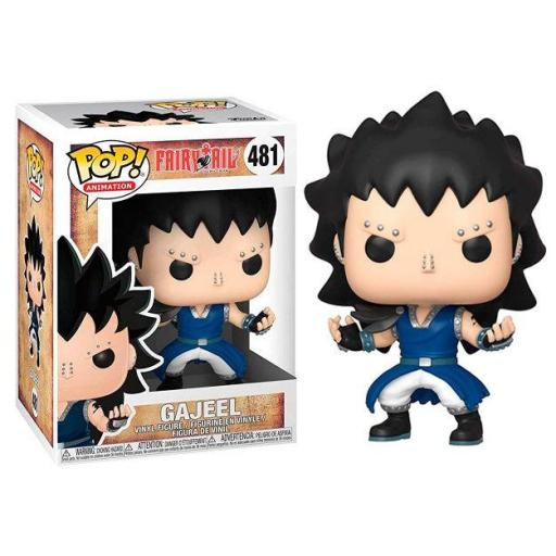 FUNKO POP Fairy Tail Gajeel serie 3