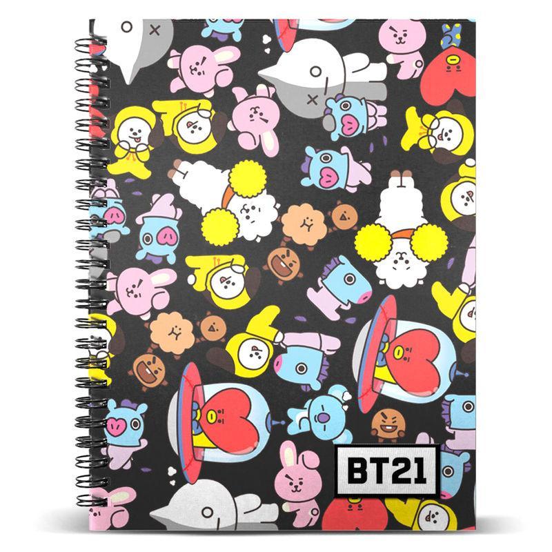 Cuaderno A5 BT21