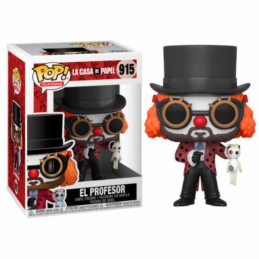Figura POP La Casa de Papel Professor O Clown