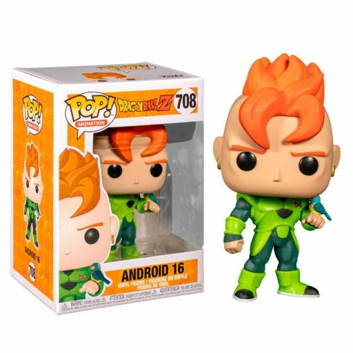 Figura POP Dragon Ball Z Android 16