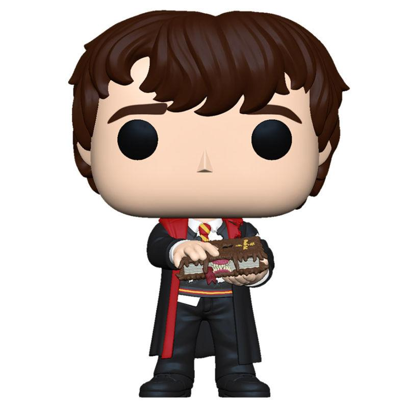Figura POP Harry Potter Neville with Monster Book